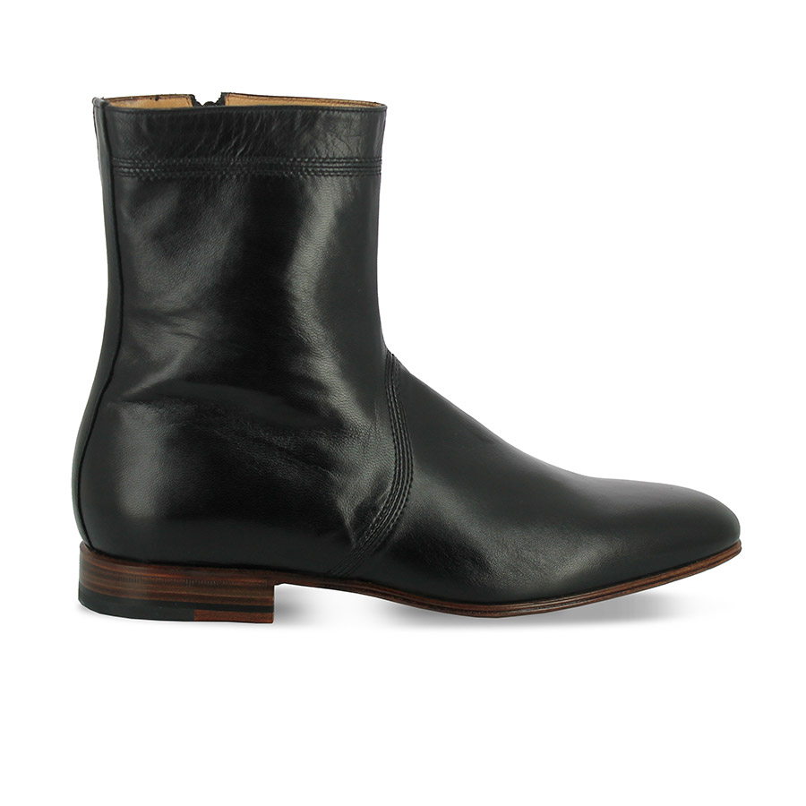 Bottines - Dylan - Agneau noir