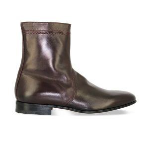 Bottines - Dylan - Agneau bordeaux
