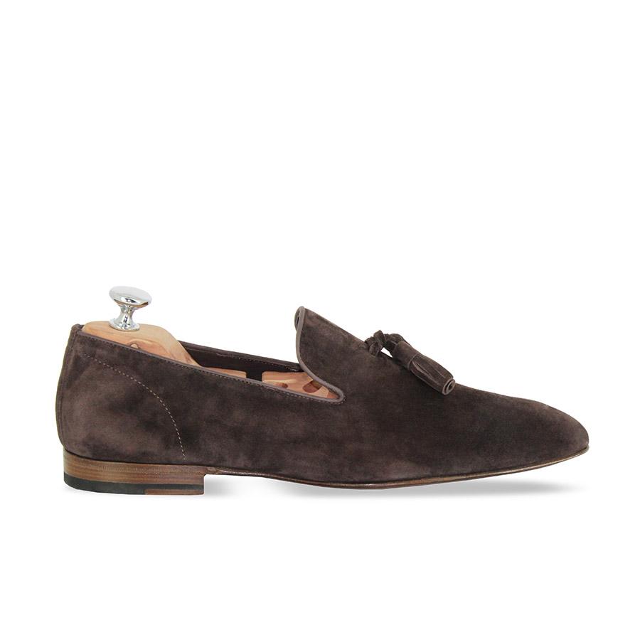 Slippers - Capri - Velours marron