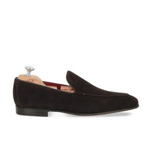 Mocassins - Deauville - Velours marron