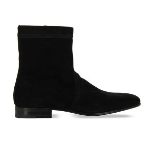 Bottines - Dylan - Veau Velours noir