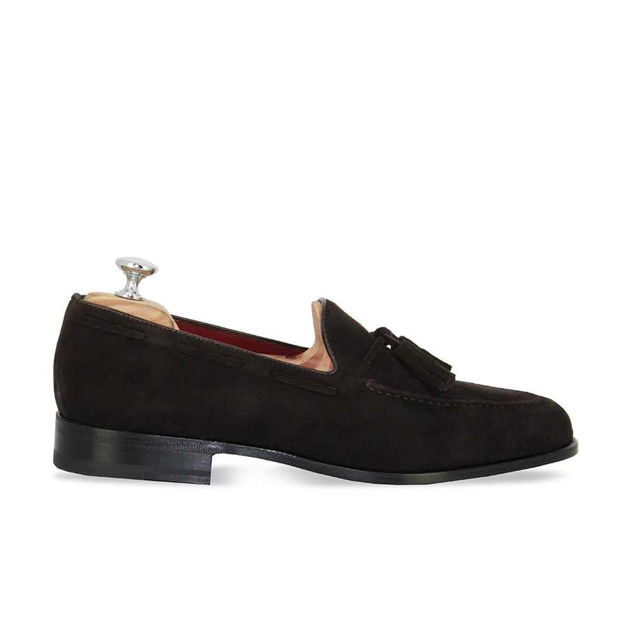 Mocassins - Lord - Velours marron