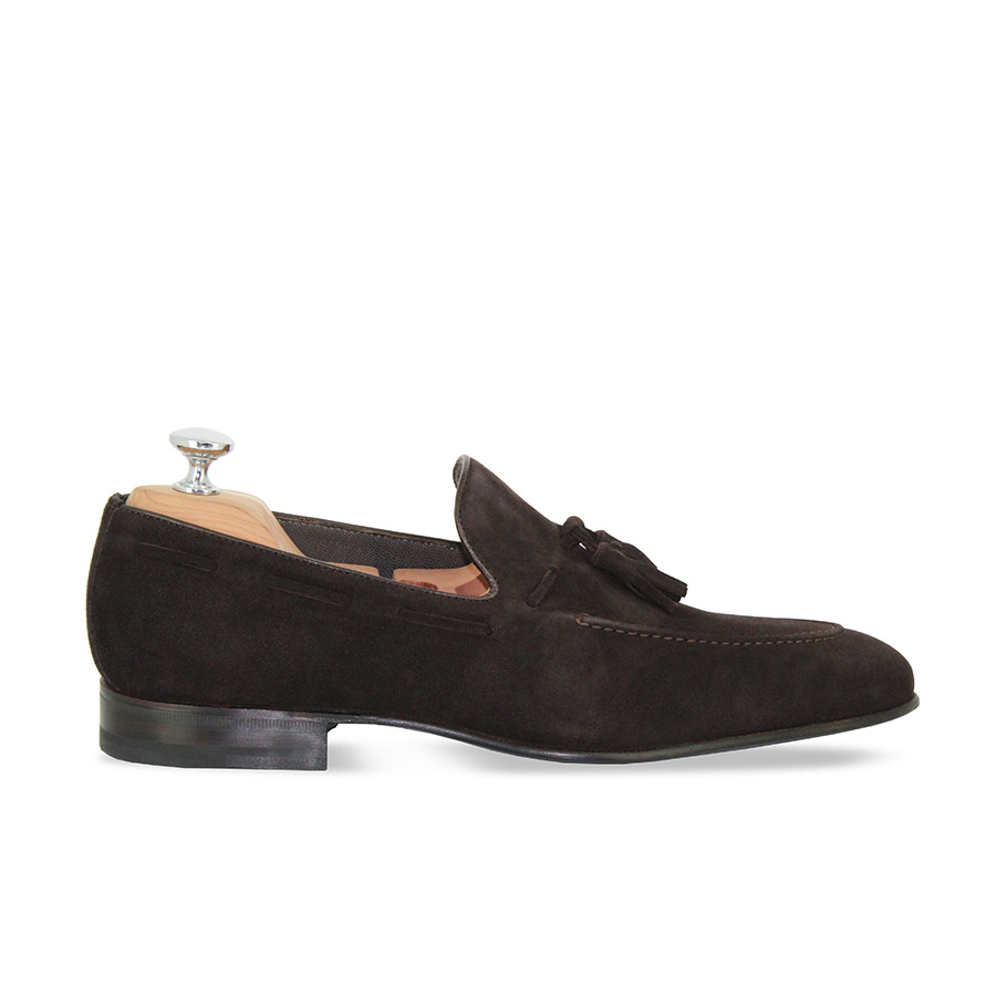 Mocassins - Triomphe - Velours marron